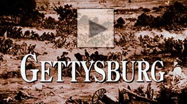 Gettysburg film excerpt.