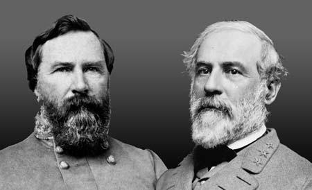 Gens. Longstreet and Lee